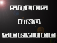 Sales and Service Banner